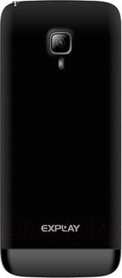Мобильный телефон Explay TV280 (Black) - задняя панель