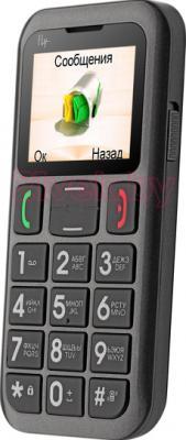 Мобильный телефон Fly Ezzy 5 (серый) - общий вид