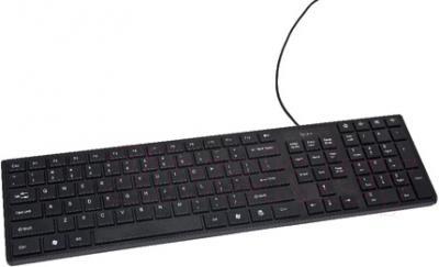 Клавиатура Gembird KB-501-B-R - общий вид
