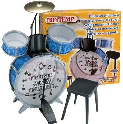 Музыкальная игрушка Bontempi Барабанная установка (JD4500.2) - общий вид