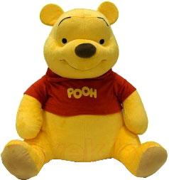 Мягкая игрушка Disney Медвежонок Винни (VNN2\M) - общий вид