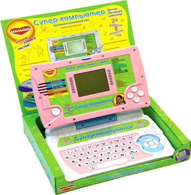 Развивающая игрушка Genio Kids Супер-компьютер 1029R - наличие цвета уточнять у оператора