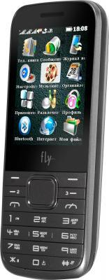 Мобильный телефон Fly TS107 (Silver) - общий вид