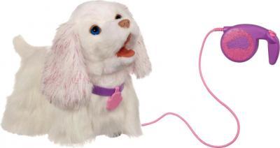 Интерактивная игрушка Hasbro FurReal Friends Щенок Гого (94371) - с поводком