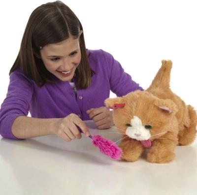 Интерактивная игрушка Hasbro FurReal Friends Котенок Дэйзи (A2003) - игра с котенком