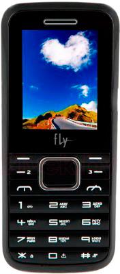 Мобильный телефон Fly TS91 (черный) - общий вид