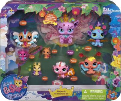 Игровой набор Hasbro Littlest Pet Shop Коллекционный с феями (99949) - упаковка