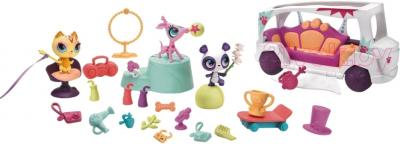 Игровой набор Hasbro Littlest Pet Shop Таланты на лимузине (A0410) - общий вид