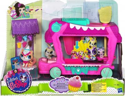 Игровой набор Hasbro Littlest Pet Shop Грузовик сладостей (A1356) - упаковка
