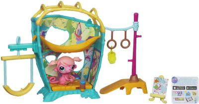 Игровой набор Hasbro Littlest Pet Shop Студия обезьянки Минки (A5474) - общий вид