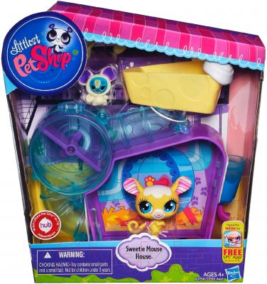 Игровой набор Hasbro Littlest Pet Shop Студия обезьянки Минки (A5474) - упаковка