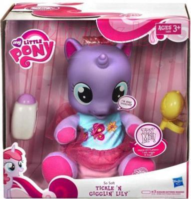 Интерактивная игрушка Hasbro My Little Pony Озорная малышка Лили (A3826) - упаковка