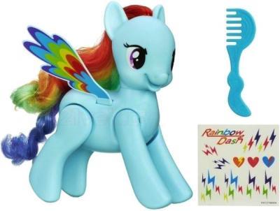 Интерактивная игрушка Hasbro My Little Pony Проворная Рейнбоу Дэш (A5905) - комплектация