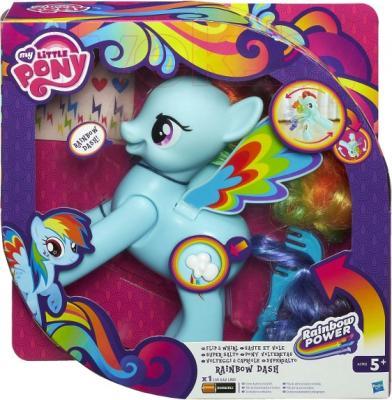 Интерактивная игрушка Hasbro My Little Pony Проворная Рейнбоу Дэш (A5905) - упаковка