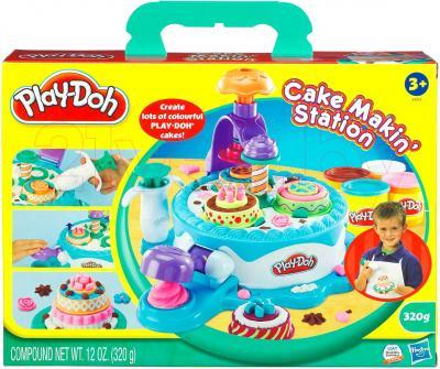 Игровой набор Hasbro Play-Doh Фабрика тортиков (24373) - упаковка