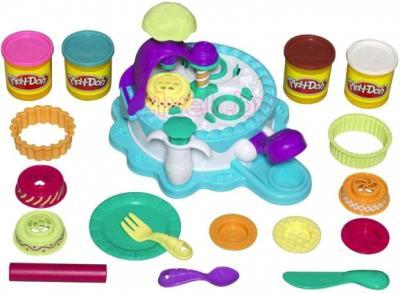 Игровой набор Hasbro Play-Doh Фабрика тортиков (24373) - общий вид