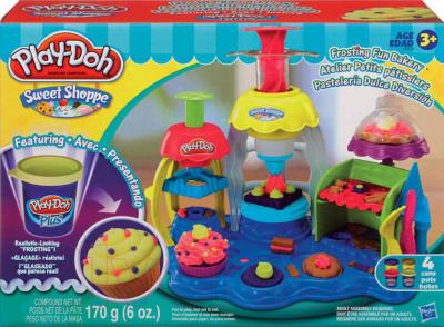 Игровой набор Hasbro Play-Doh Фабрика пирожных (A0318) - упаковка