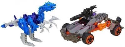 Робот-трансформер Hasbro Констракт-Боты: Войны (A6149) - динозавр и автомобиль