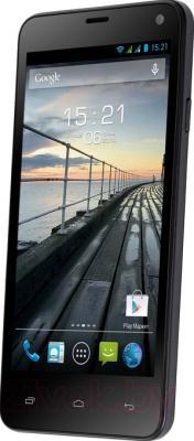 Смартфон Fly IQ4416 (черный) - общий вид