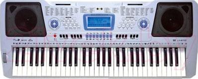 Музыкальная игрушка Pokar Электронный синтезатор LP6110 (61 клавиша) - общий вид
