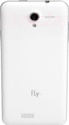 Смартфон Fly IQ4416 (White) - задняя панель
