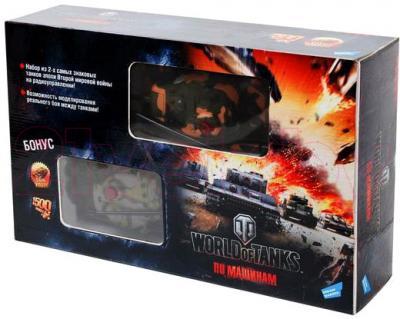 Радиоуправляемая игрушка Dream Makers Танковый бой World of Tanks (RD128A) - в коробке