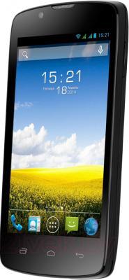 Смартфон Fly IQ4490 (черный) - общий вид