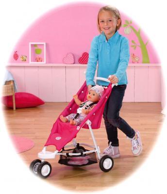 Коляска для куклы Zapf Creation Baby Born (818282) - девочка с коляской