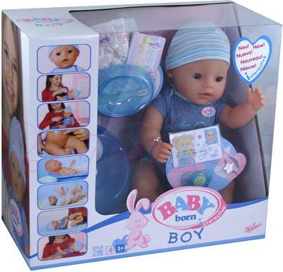 Кукла-младенец Zapf Creation Baby Born Мальчик (818701) - упаковка