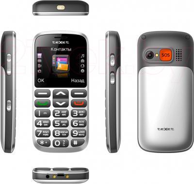 Мобильный телефон TeXet TM-B313 (Silver) - полный обзор панелей