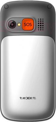 Мобильный телефон TeXet TM-B313 (Silver) - задняя панель