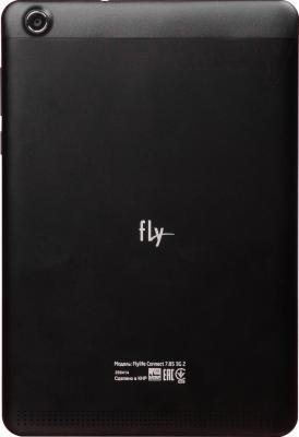 Планшет Fly Flylife Connect 7.85 3G 2 (черный) - вид сзади