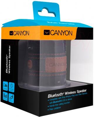 Портативная колонка Canyon CNS-CBTSP1B - в упаковке