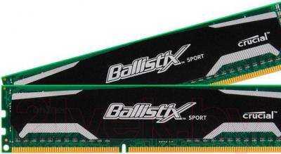 Оперативная память DDR3 Crucial Ballistix Sport 2x4GB DDR3 PC3-12800 (BLS2CP4G3D1609DS1S00CEU) - общий вид