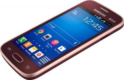 Смартфон Samsung Galaxy Star Plus / S7262 (красный) - общий вид