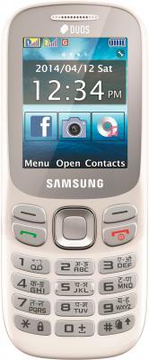 Мобильный телефон Samsung Metro 312 / B312E (белый) - вид спереди