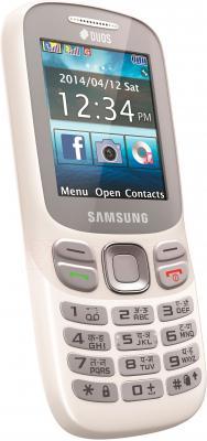 Мобильный телефон Samsung Metro 312 / B312E (белый) - общий вид