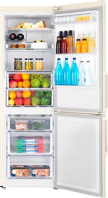 Холодильник с морозильником Samsung RB30FEJMDEF/RS - камеры хранения