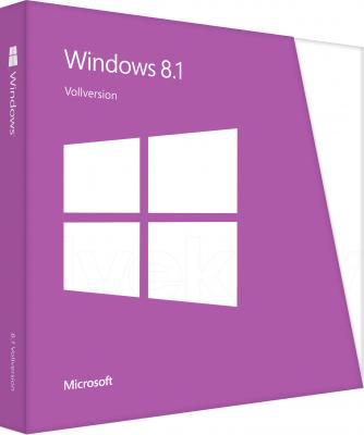 Операционная система Microsoft Windows 8.1 32-bit/64-bit Ru (WN7-00938) - общий вид