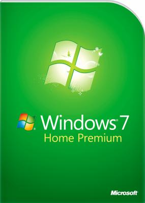 Операционная система Microsoft Windows Home Premium 7 SP1 32-bit En 1pk (GFC-02726) - общий вид
