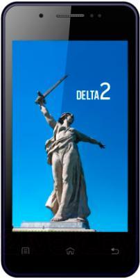 Смартфон Keneksi Delta 2 (Black) - вид спереди