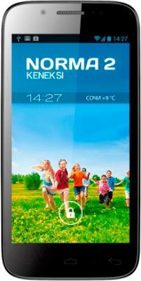 Смартфон Keneksi Norma 2 (Black) - вид спереди
