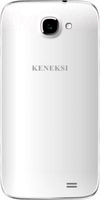 Смартфон Keneksi Norma 2 (White-Gold) - задняя панель