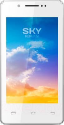 Смартфон Keneksi Sky (белый) - общий вид