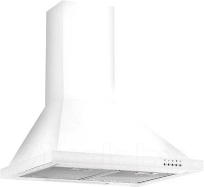 Вытяжка купольная Dach ARABICA (50, White) - общий вид