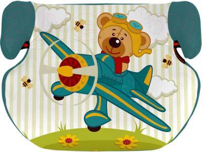 Автокресло Lorelli Teddy Aquamarune Pilot Bear (10070751465) - общий вид