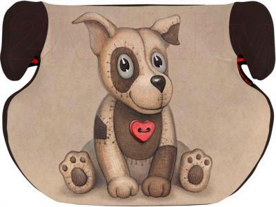 Бустер Lorelli Teddy (Beige&Brown Dog Toy) - общий вид