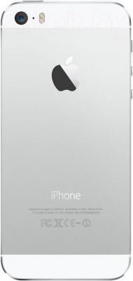 Смартфон Apple iPhone 5s (16GB, белый) - вид сзади