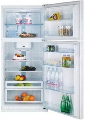 Холодильник с морозильником Daewoo FN-T650NPW - внутренний вид