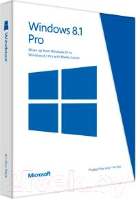 Операционная система Microsoft Windows Pro 8.1 x64 En 1pk DSP (FQC-06949) - общий вид